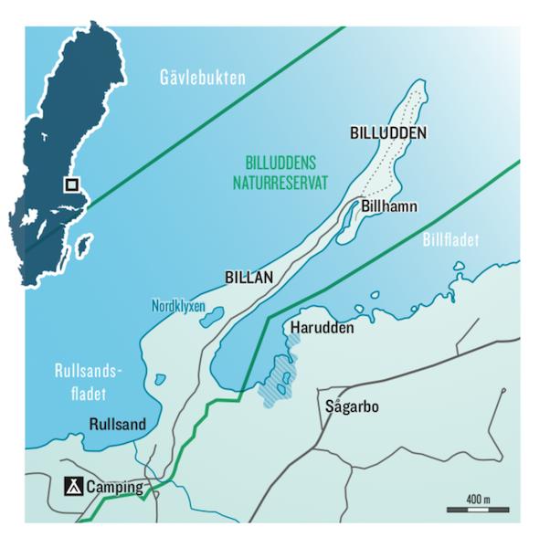 Billudden karta