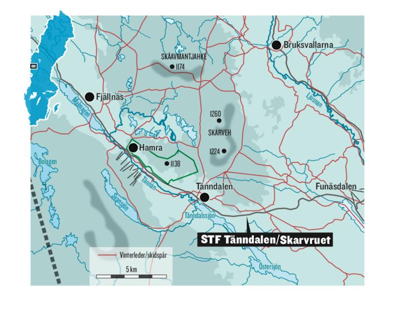 STF Tänndalen/Skarvruet