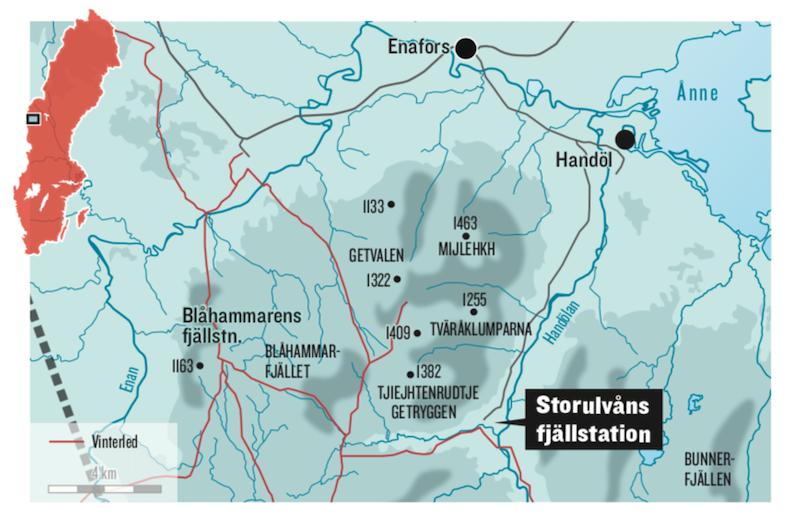 Storulvån Fjällstation STF