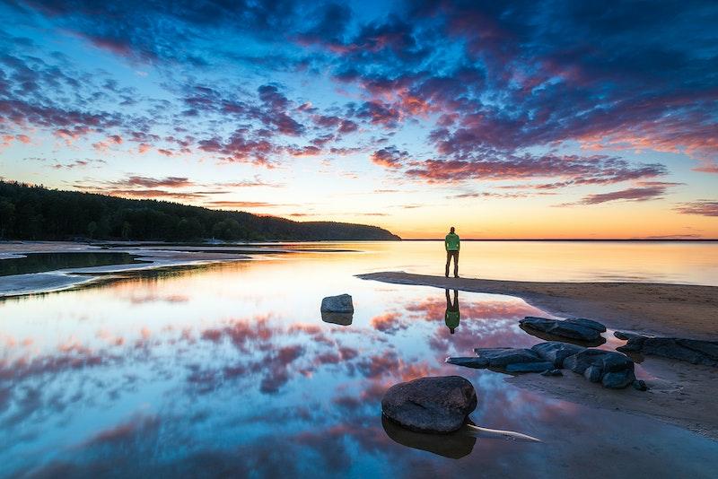 Naturfotografi selfie Mikael Svensson