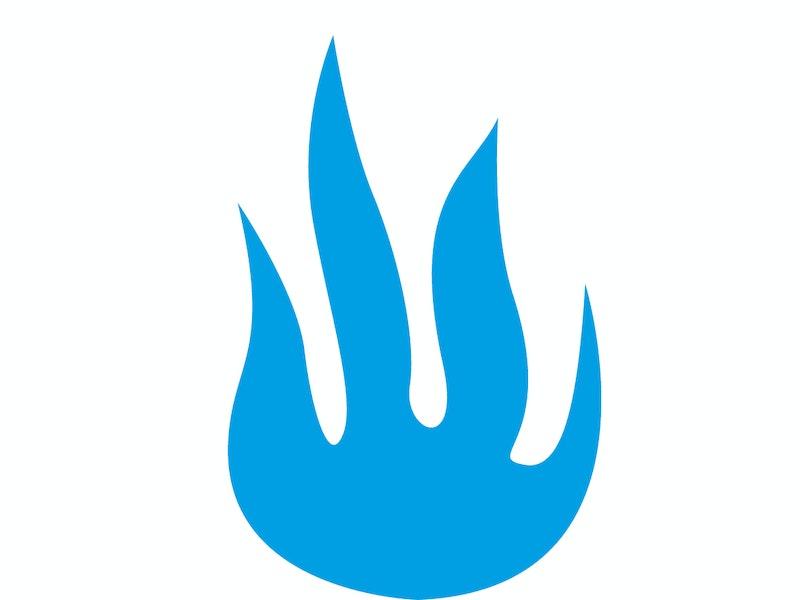 Vattenrening symbol eld