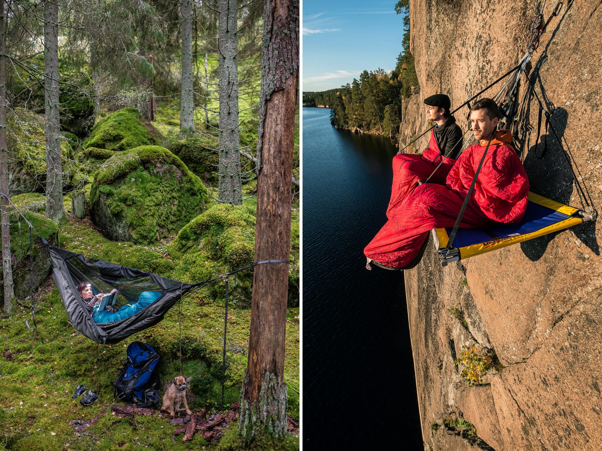 Sova i sovsäck Svenska Turistföreningen